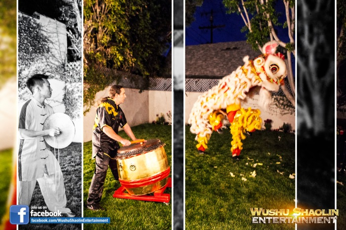 Lion Dance Los Angeles Team : Wushu Shaolin Entertainment
