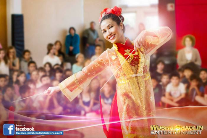 Female Chinese Ribbon Dance Bookings
