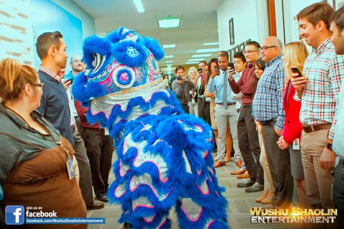 Accenture Lion Dance Performance