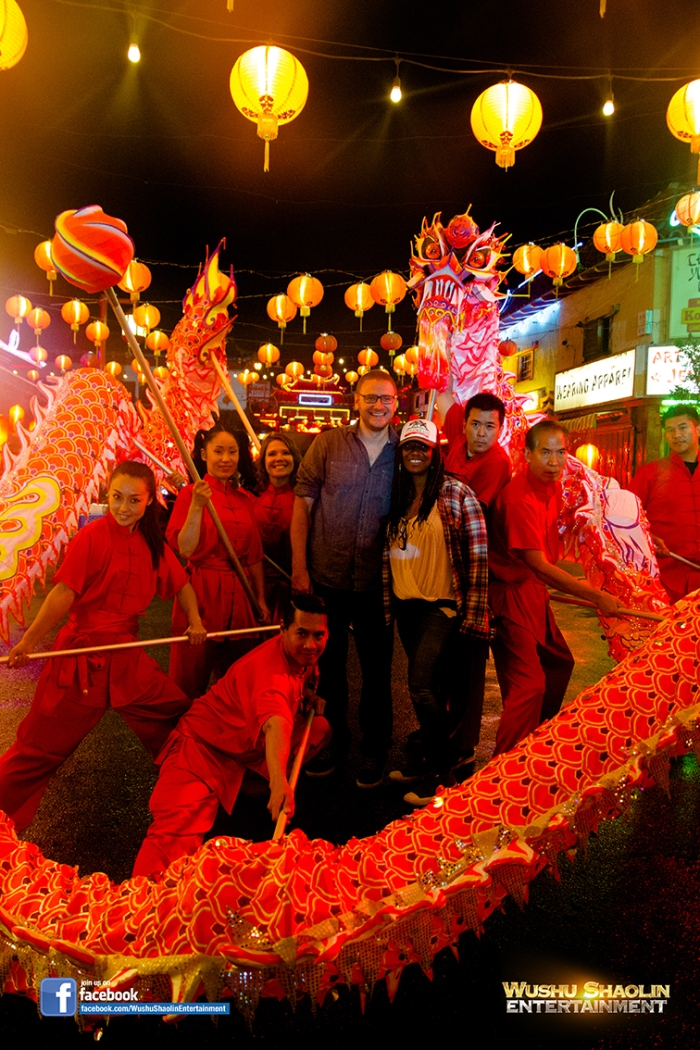 Dragon Dance produced by Wushu Shaolin Entertainment for Film and Television.